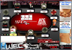 UFC Poker Table