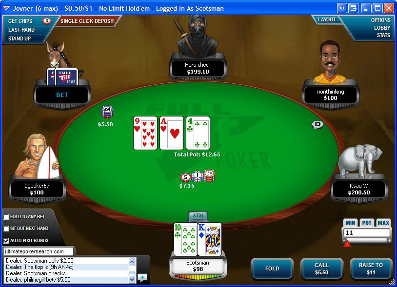 Full Tilt Poker App For Mac